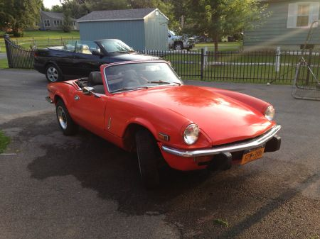 1972 Triumph Spitfire right front