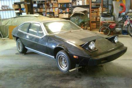 1977 Lotus Eclat black right front