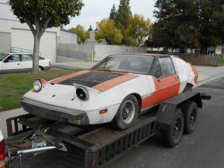 1977 Lotus Eclat orange left front