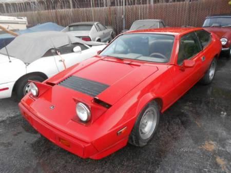 1977 Lotus Eclat red left front