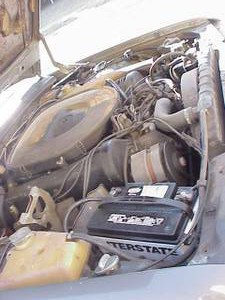 1978 Mercedes 450SEL 6.9 engine