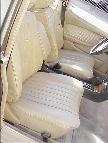 1978 Mercedes 450SEL 6.9 interior