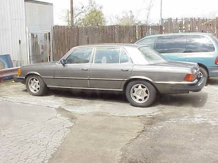 1978 Mercedes 450SEL 6.9 left rear