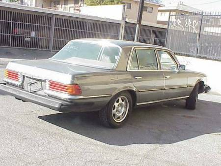 1978 Mercedes 450SEL 6.9 right rear