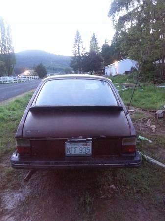 1978 Saab 99 Turbo 2 rear
