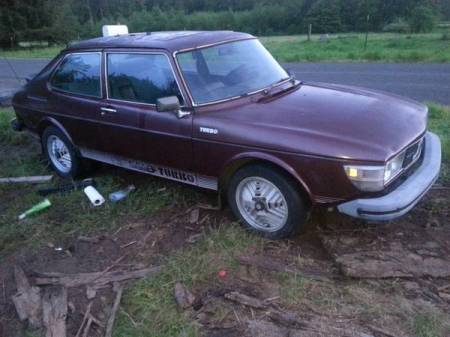 1978 Saab 99 Turbo 2 right front