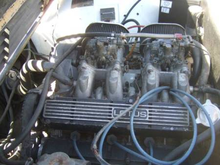 1979 Lotus Eclat engine