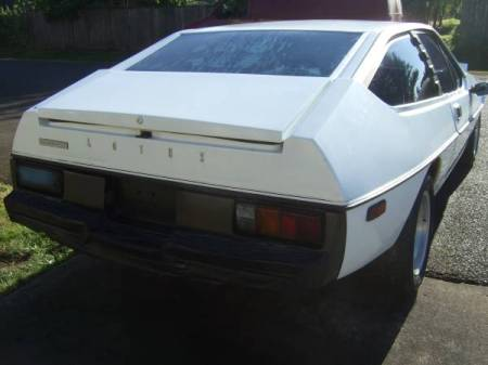1979 Lotus Eclat right rear