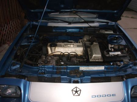 1985 Shelby Charger Turbo engine