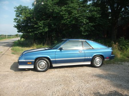 1985 Shelby Charger Turbo left front