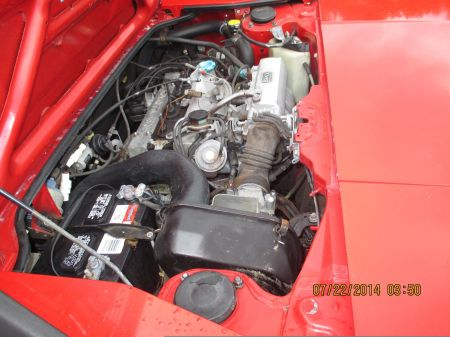 1985 Toyota MR2 engine
