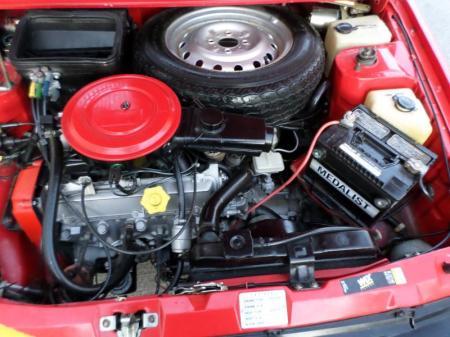 1986 Yugo GV engine