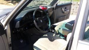 1987 BMW 528e interior