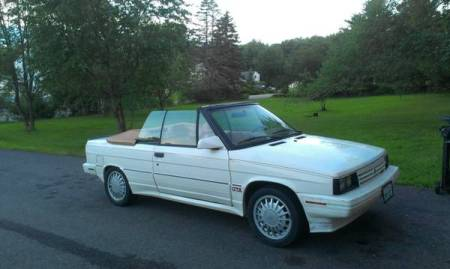 1987 Renault GTA convertible right front