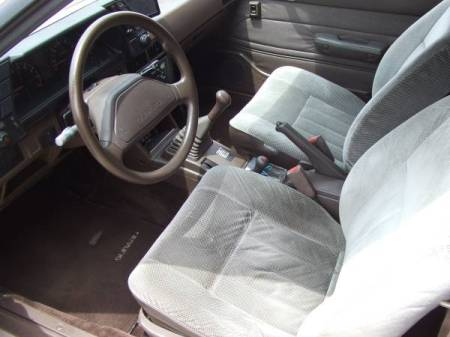 1988 Subaru GL 3-door interior