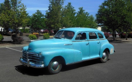 1948 Chevrolet Fleetmaster left front