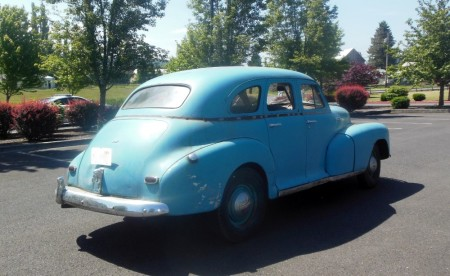 1948 Chevrolet Fleetmaster right rear