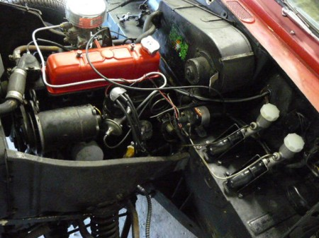 1963 Triumph Herald convertible for sale engine