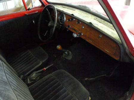 1963 Triumph Herald convertible for sale interior