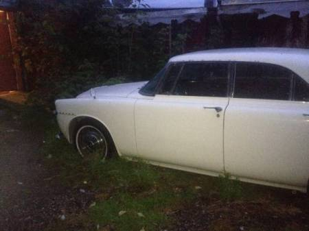 1965 Rover P5 Coupe left front