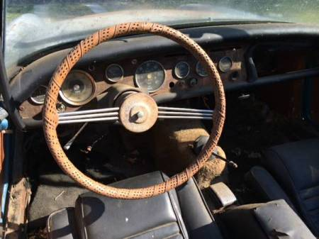 1965 Sunbeam Alpine for sale interior
