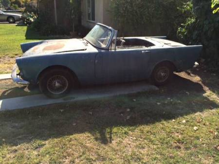 1965 Sunbeam Alpine for sale left front