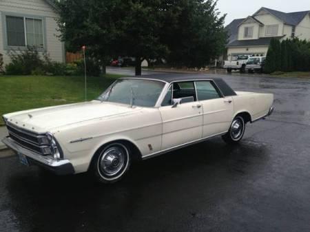 1966 Ford LTD left front