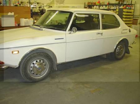 1970 Saab 99 left front