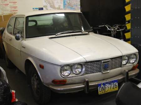 1970 Saab 99 right front