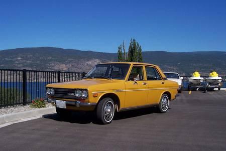 1971 Datsun 510 left front