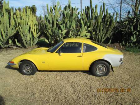 1971 Opel GT left side