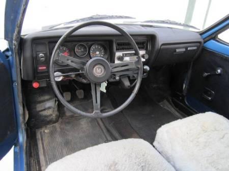 1972 Honda AZ600 2 interior