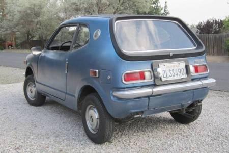 1972 Honda AZ600 2 left rear