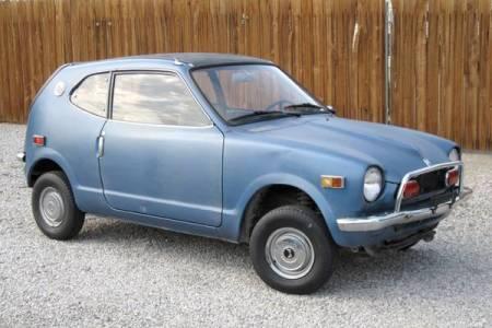 1972 Honda AZ600 2 right front