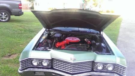 1972 Mercury Monterey engine