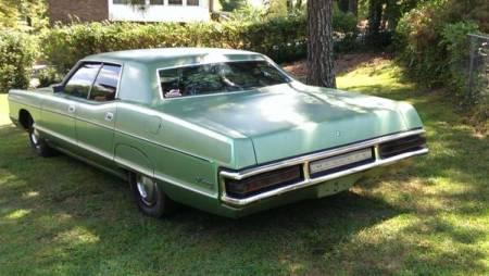 1972 Mercury Monterey left rear
