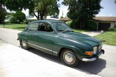 1972 Saab 96 right front