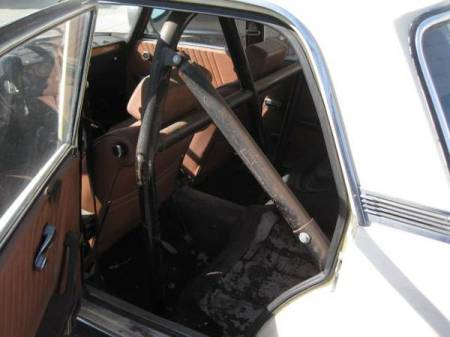 1973 Alfa Romeo Berlina interior rear