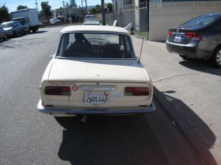 1973 Alfa Romeo Berlina rear