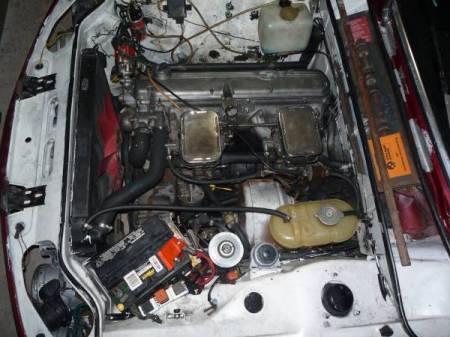 1973 BMW Bavaria 2 engine