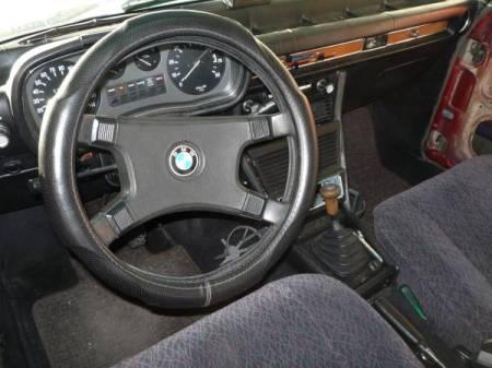 1973 BMW Bavaria 2 interior
