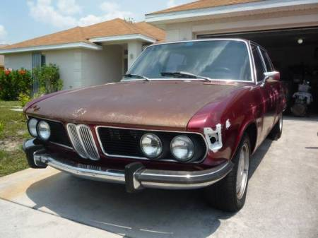 1973 BMW Bavaria 2 left front
