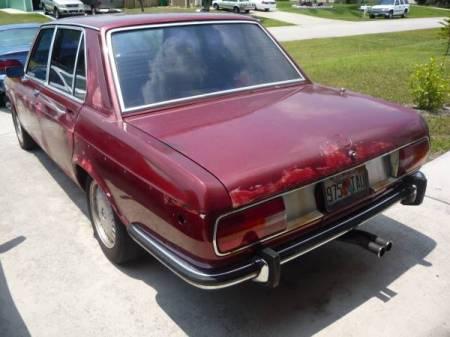 1973 BMW Bavaria 2 left rear
