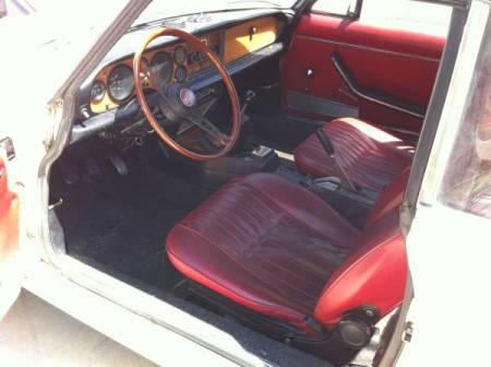1974 Fiat 124 Spider 2 interior