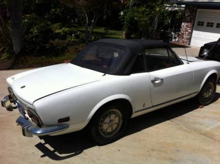 1974 Fiat 124 Spider 2 right rear