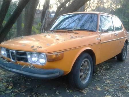 1974 Saab 99 EMS left front