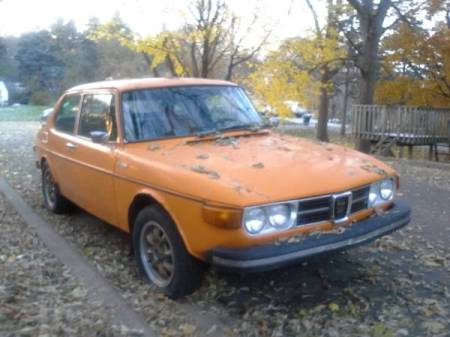 1974 Saab 99 EMS right front