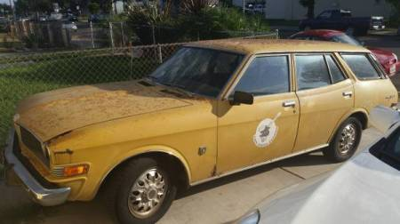 1974 Toyota Corona Mark 2 left front