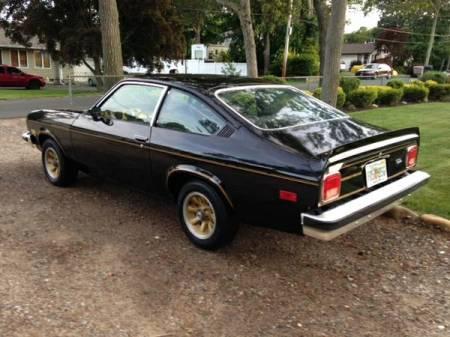 1975 Chevrolet Vega Cosworth left rear