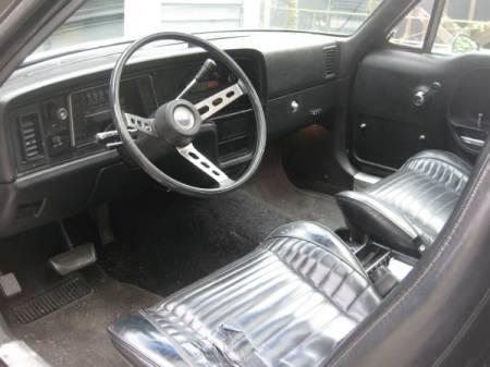 1977 AMC Pacer wagon interior